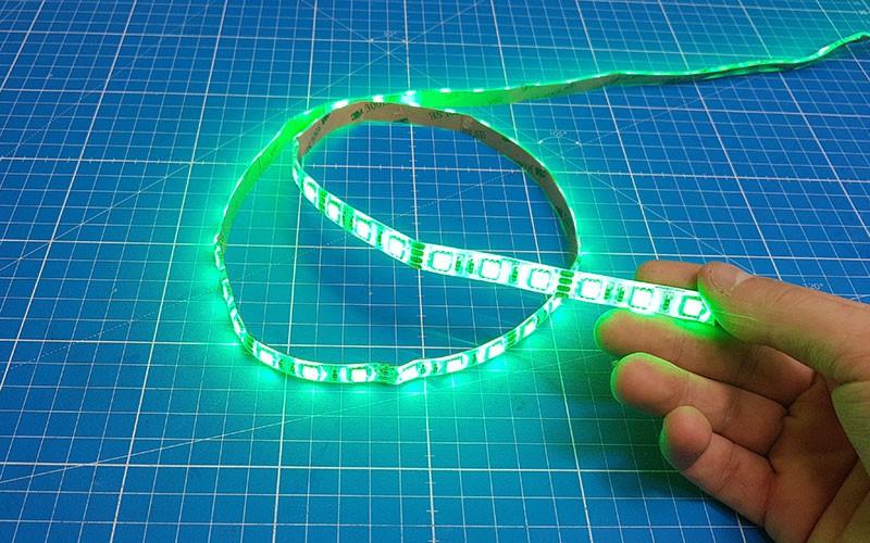 Comment couper, souder et raccorder un ruban LED RGB ?