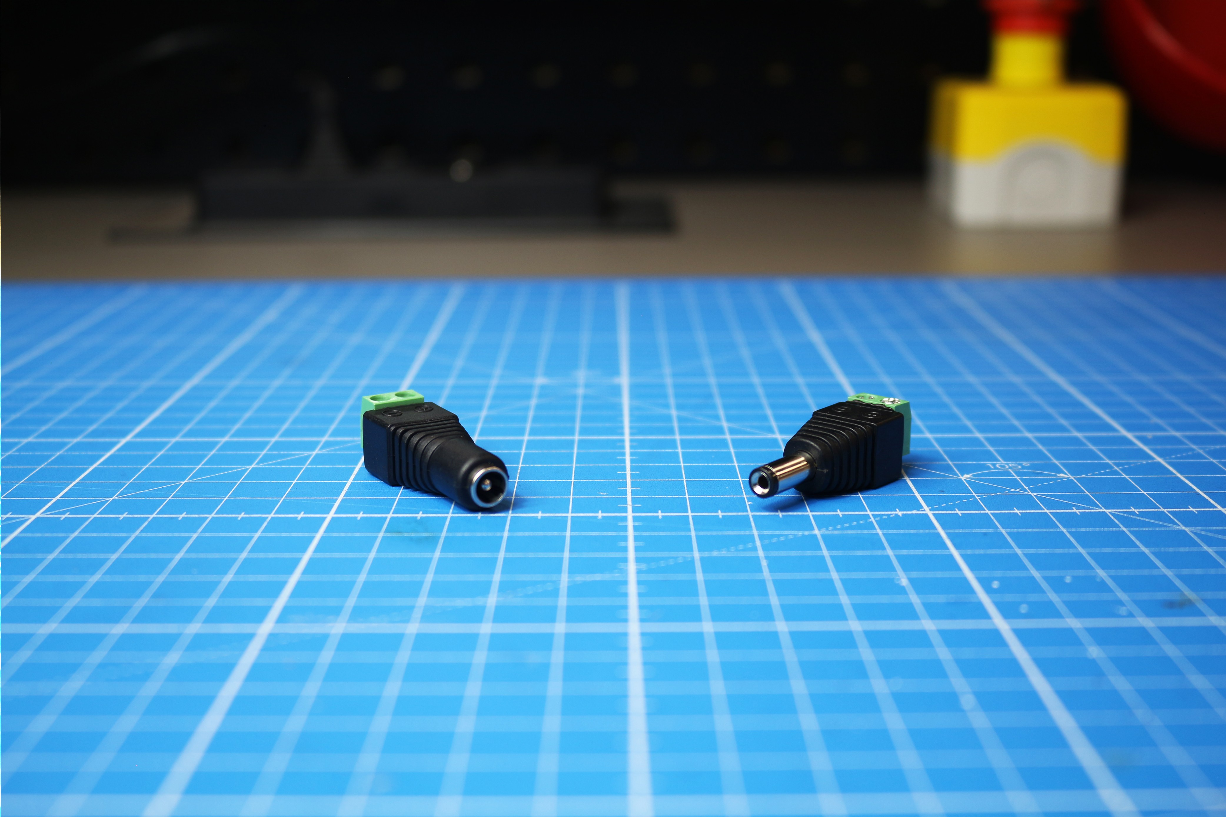 L'utilisation des connecteurs Jack mâle et femelle à visser
