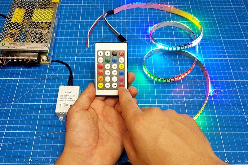 Comment brancher et utiliser le contrôleur digital infrarouge ?