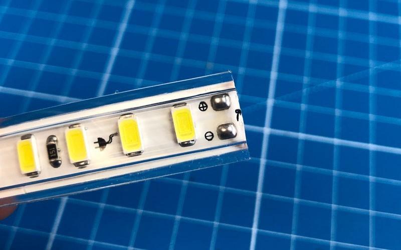 Couper et connecter un ruban LED 220V direct
