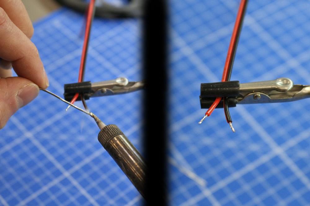 Couper et souder facilement un ruban LED