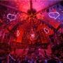 Néon LED LumiPop en soirée avec David Guetta