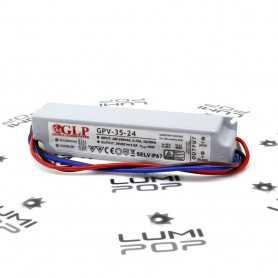 Alimentation LED étanche 220V/24V 36W IP67