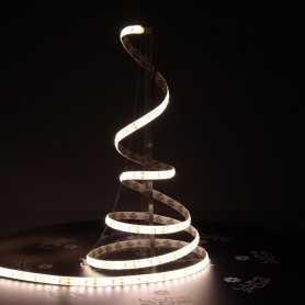 Ruban LED blanc chaud 5m étanche IP54 120led/m 12V gamme ACCESS