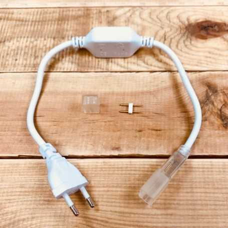 Kit de connexion pour néon LED 220V direct