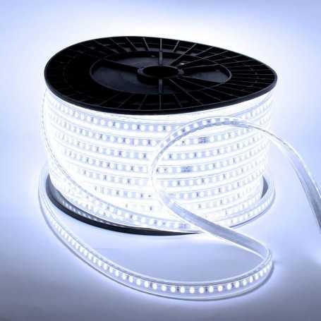 Ruban LED blanc froid 220V direct vendu au mètre