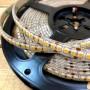 Ruban LED blanc chaud 5m étanche IP54 198LED/m 12V gamme PREMIUM