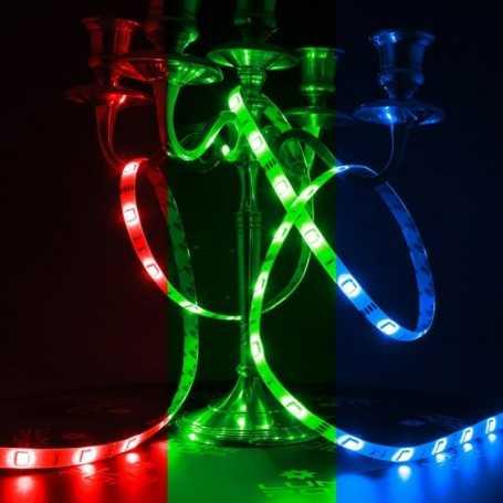 Bandeau LED multicolore 30LED/m de 2m50 idéal en intérieur