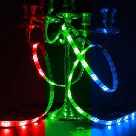 Bandeau LED multicolore 30LED/m de 5m idéal en intérieur