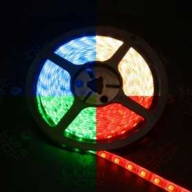Ruban LED RGBWW (4 en 1) 5m étanche IP54 60LED/m 12V gamme PREMIUM