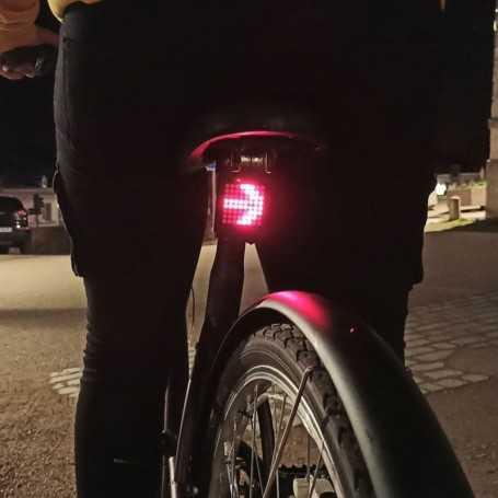 Clignotants LED pour vélo. La sécurité avant tout
