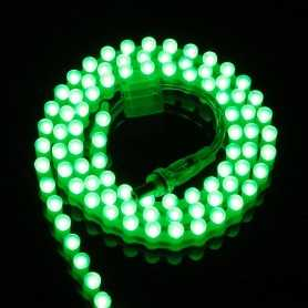 Ruban LED SILICONE vert 1m étanche IP65 96LED/m 12V gamme PREMIUM