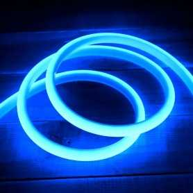 Ruban LED néon bleu 5m 12V étanche IP67 gamme PREMIUM