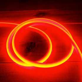 Ruban LED néon rouge 5m 12V étanche IP67 gamme PREMIUM