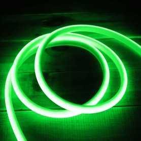 Ruban LED néon vert 5m 12V étanche IP67 gamme PREMIUM
