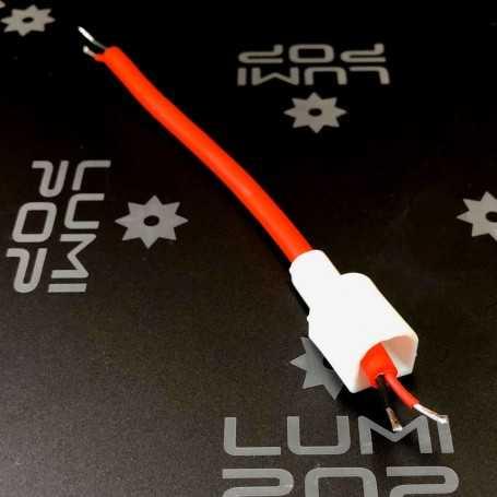 Connecteur d'alimentation avec câble pour ruban LED néon