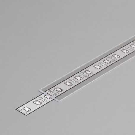 Diffuseur transparent à glisser TYPE B de 1m