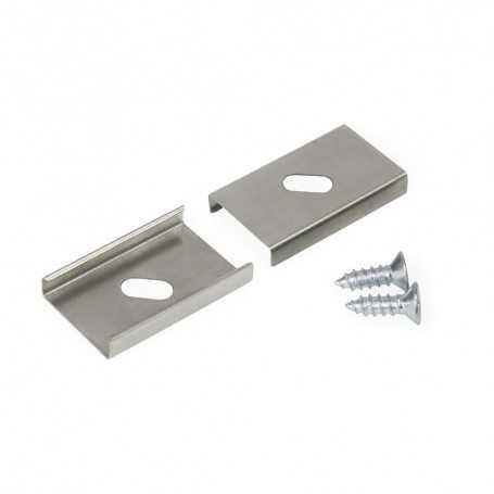 Clips de fixation à visser TYPE U-1 pour profilé LED aluminium