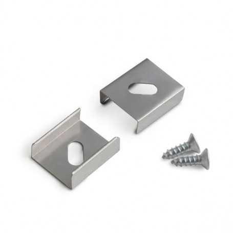 Clips de fixation à visser TYPE Z-1 pour profilé LED aluminium