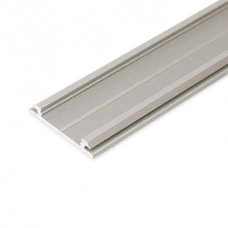 Profilé alu ARC gris FLEXIBLE de 1m pour ruban LED 12mm