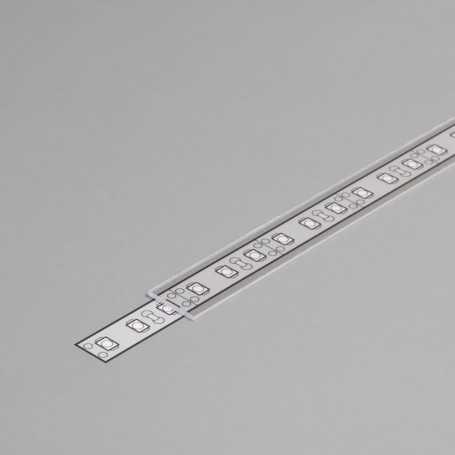 Diffuseur transparent à glisser TYPE J de 1m