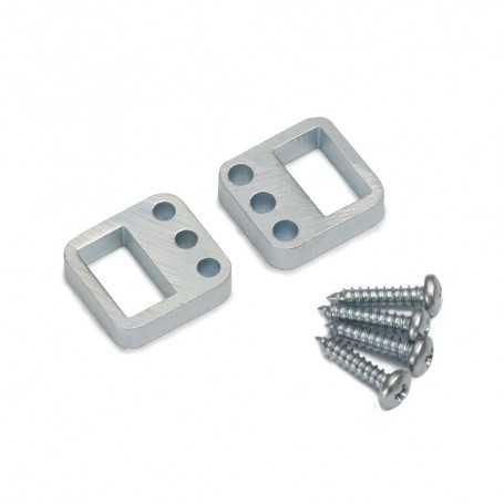 Supports latéraux pour profilé LED SLIM