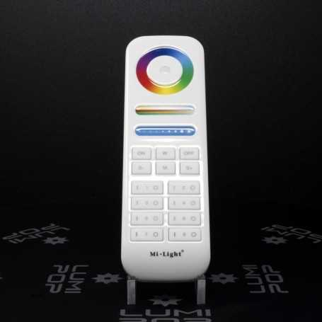 Télécommande RGBW/RGB+CCT 8 zones gamme LumiConnect
