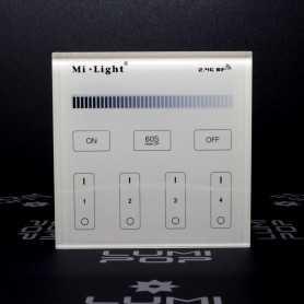 Panneau tactile LED Variateur 4 zones à piles gamme LumiConnect