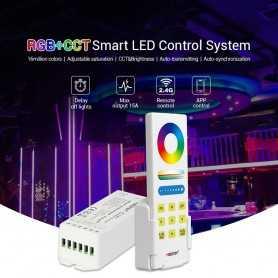 Kit contrôleur RGB+CCT avec télécommande RF tactile