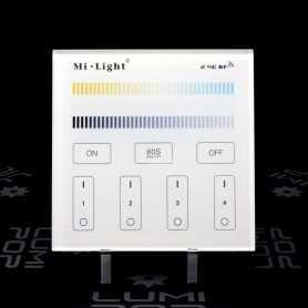 Panneau tactile LED CCT 4 zones 220V gamme LumiConnect