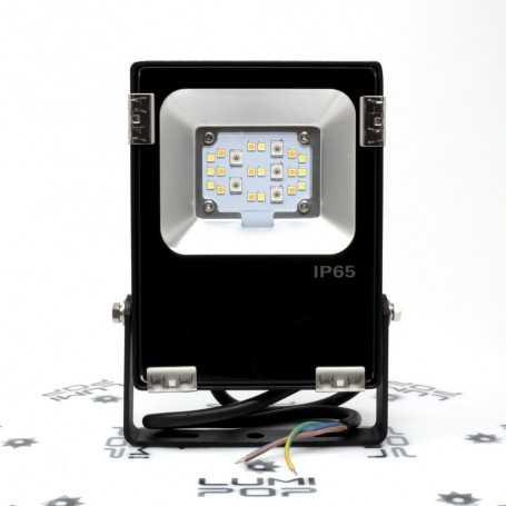 Spot extérieur connecté étanche RGB+CCT 10W 220V gamme LumiConnect