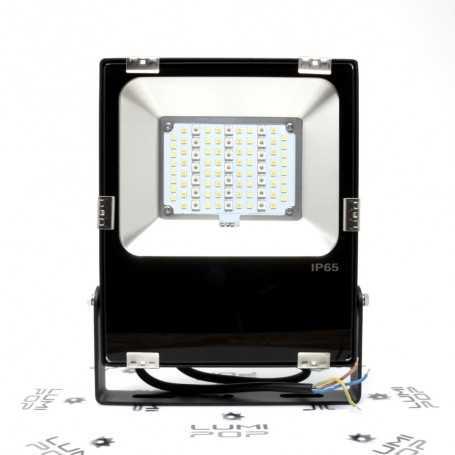 Spot extérieur connecté étanche RGB+CCT 30W 220V gamme LumiConnect