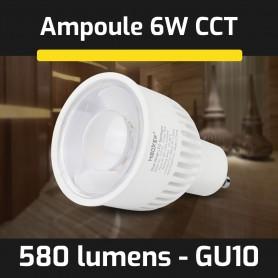 Ampoule LED connectée CCT GU10 6W gamme LumiConnect