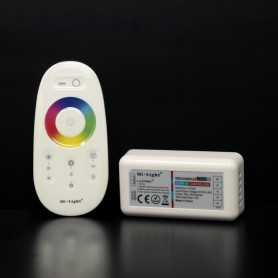 Kit contrôleur RGBW avec télécommande RF tactile