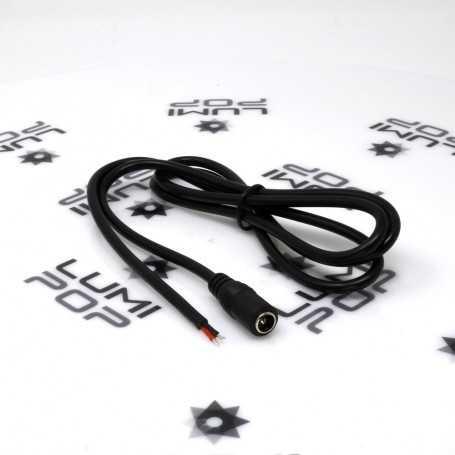 Connecteur d'alimentation LED Jack femelle de 1m