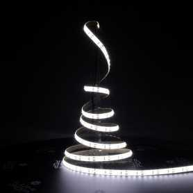 Ruban LED blanc froid 5m étanche IP54 120led/m 12V gamme PREMIUM