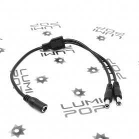 Connecteur d'alimentation LED Jack double
