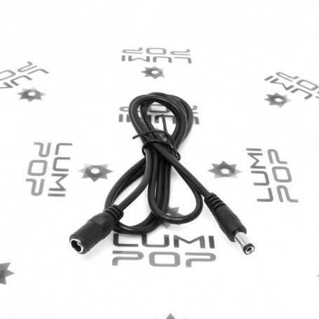 Rallonge d'alimentation LED Jack de 1m