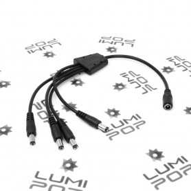 Connecteur d'alimentation LED Jack quadruple