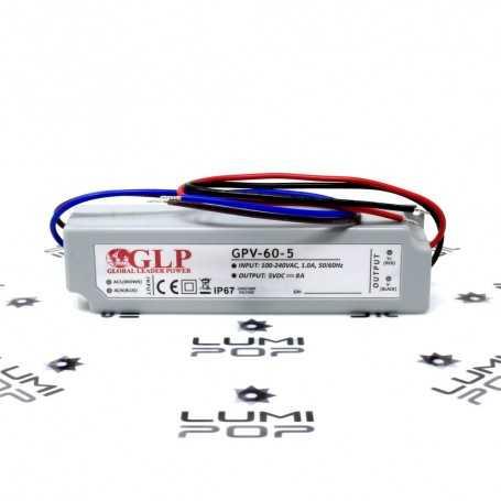 Alimentation LED étanche 220V/5V 40W
