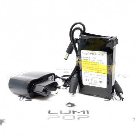 Mini batterie rechargeable 12V 1800mAh pour luminaire LED