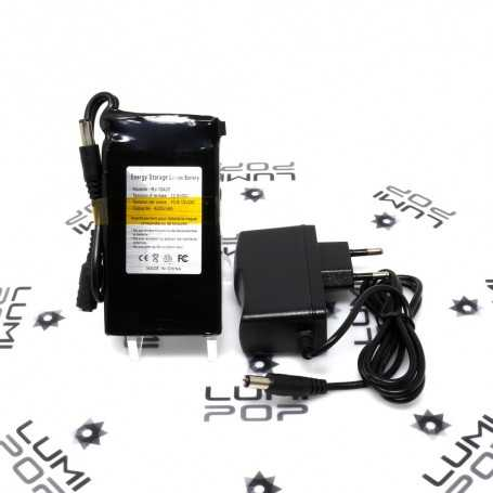 Mini batterie rechargeable 12V 4200mAh pour luminaire LED
