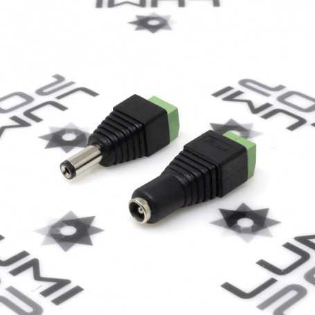 Kit connecteur Jack à visser mâle et femelle