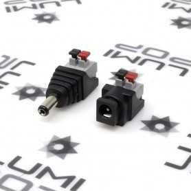Kit connecteur Jack à clipser mâle et femelle