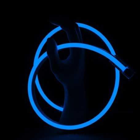 Néon LED SLIM bleu étanche IP67 12V. Qualité premium