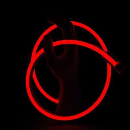 Néon LED SLIM rouge étanche IP67 12V. Qualité premium