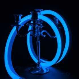 Néon LED BULBE bleu étanche IP67 24V. Qualité premium