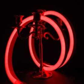Néon LED BULBE rouge étanche IP67 24V. Qualité premium