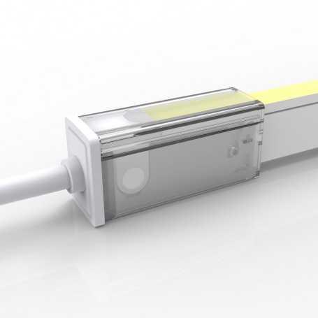 Connecteur DROIT 01 IP67 pour néon LED flexible SLIM