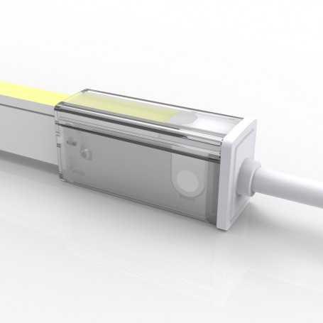 Connecteur DROIT 02 IP67 pour néon LED flexible SLIM